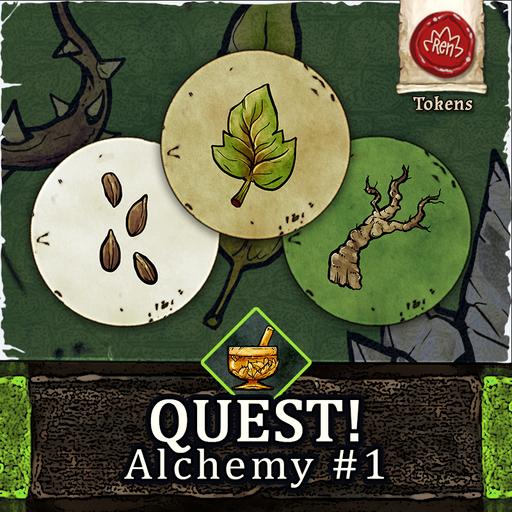 QUEST! Alchemy #1 - Nature