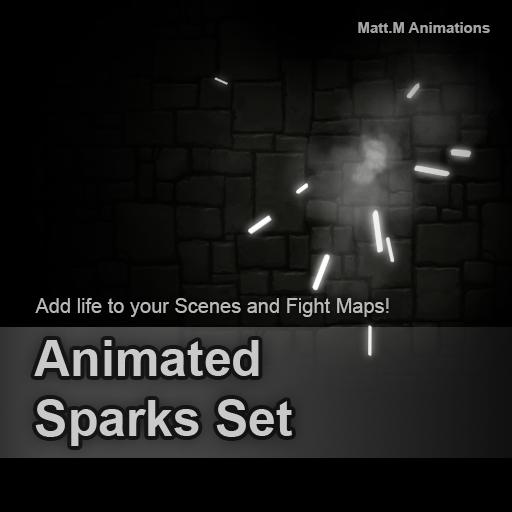 Animated Sparks Set