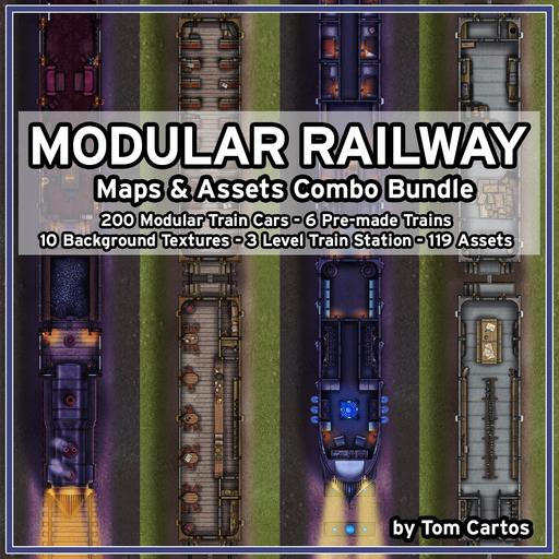Modular Railway Combo Bundle