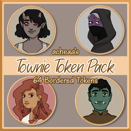 Townie Token Pack