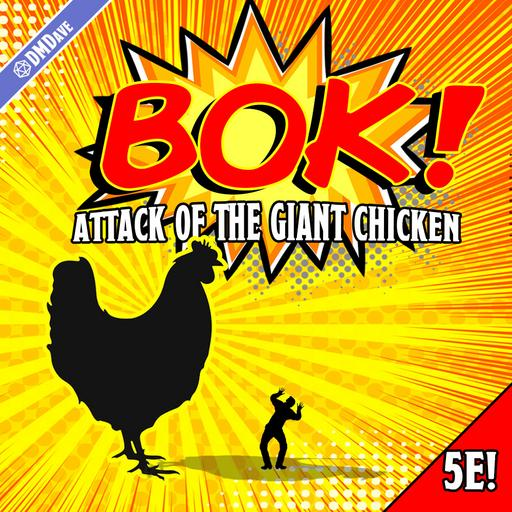 BOK! Attack of the Giant Chicken