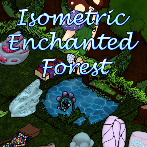 Isometric Enchanted Forest