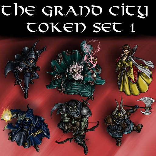 The Grand City Token Set 1