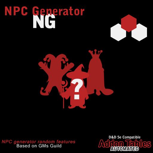 NG - NPC Generator