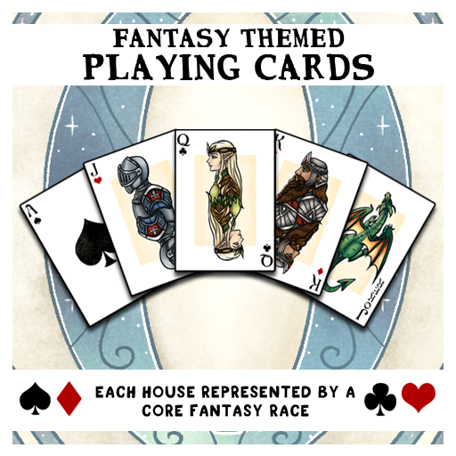 Fantasy Themed Playing Cards