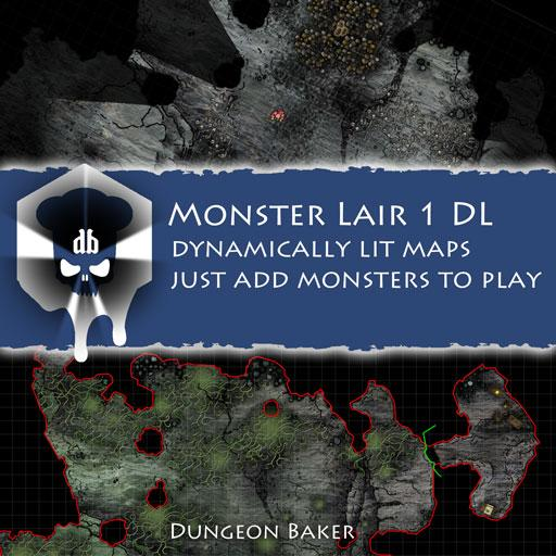 Monster Lair 1 DL