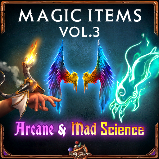 5e Magic Items Vol.3: Arcane and Mad Science