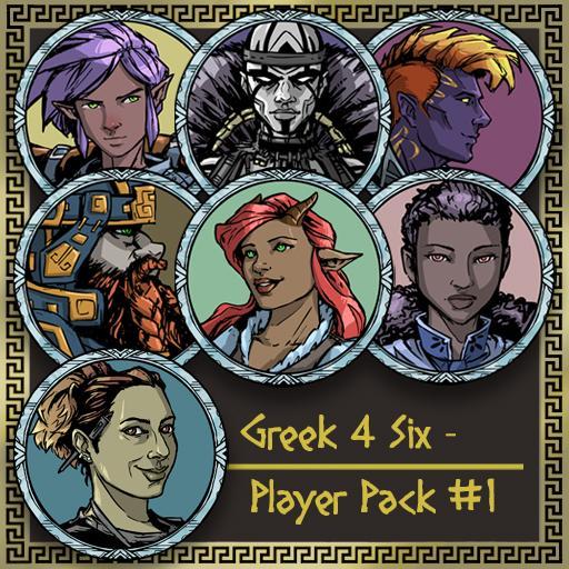 Greek4Six - Player Pack 1