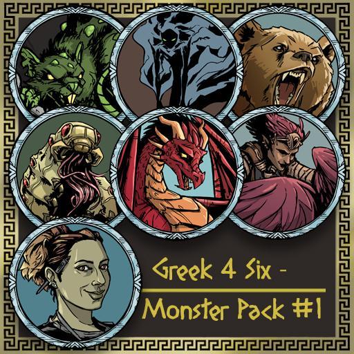Greek4Six - Monster Pack 1