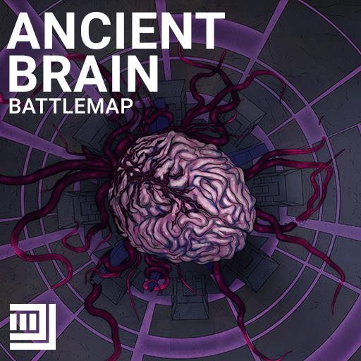 Ancient Brain Battlemap