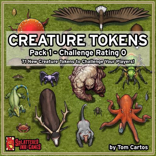 Creature Tokens CR0