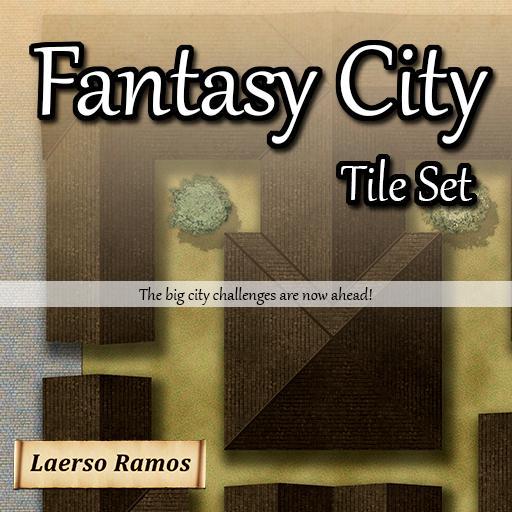 Fantasy City Tile Set