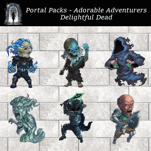 Portal Packs - Adorable Adventurers - Delightful  Dead