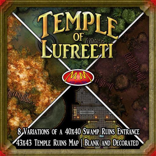 Temple of Lufreeti | Swamp Ruins