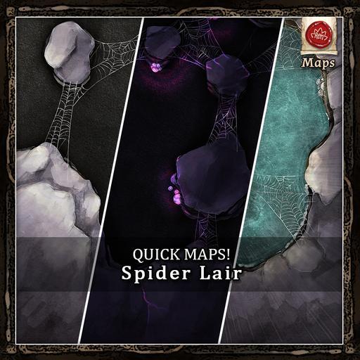 Quick Maps! - Spider Lair Cave