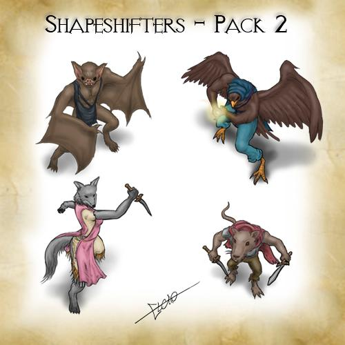 Shapeshifters Pack - 2