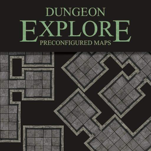 Dungeon Explore - Map Set