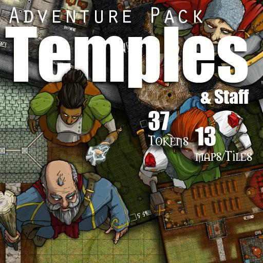 Adventure Pack - Temples and Staff