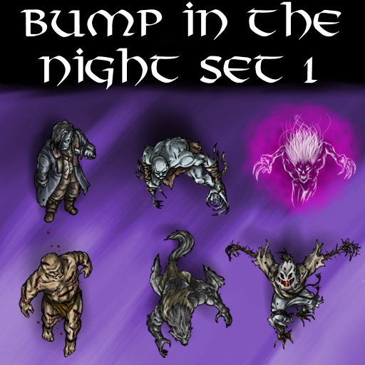 Bump in the Night Set 1