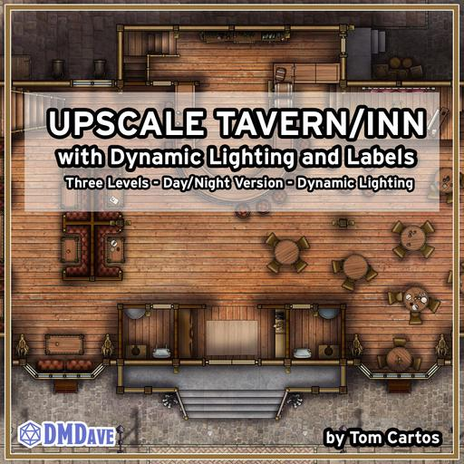 The Gilded Dragon Upscale Inn and Tavern with Dynamic Lighting