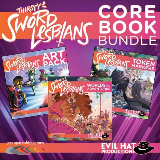 Thirsty Sword Lesbians: Core Book Bundle