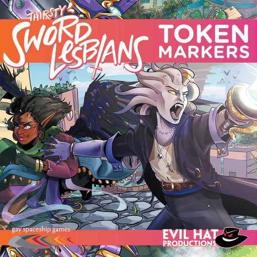 Thirsty Sword Lesbians: Token Markers
