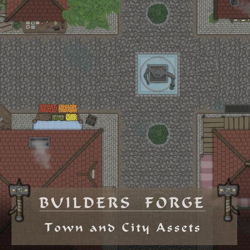 MF - Builders Forge - Town and City Assets