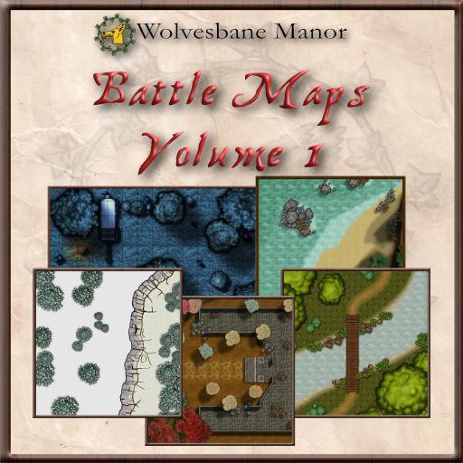 Battle Maps Volume 1