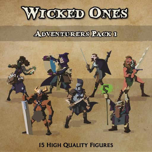 Wicked Ones - Adventurers 1 [Figures]