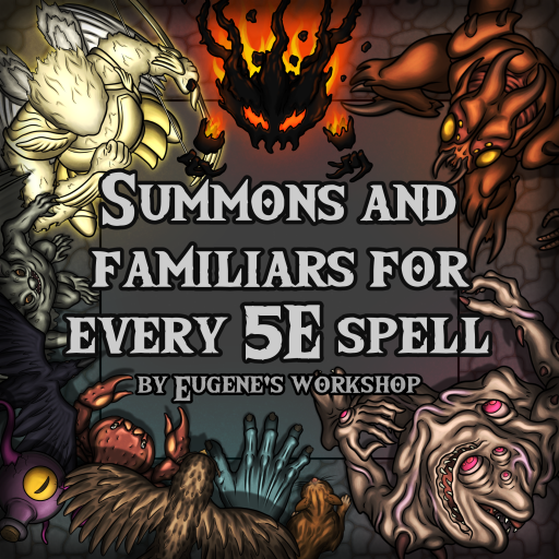 Summons and Familiars for every 5E Spell