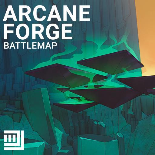 Arcane Forge Battlemap