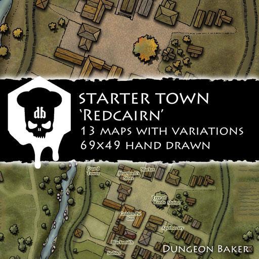 Starter Town - Redcairn