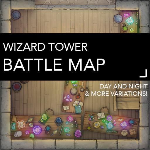 Wizard Tower Battle Map