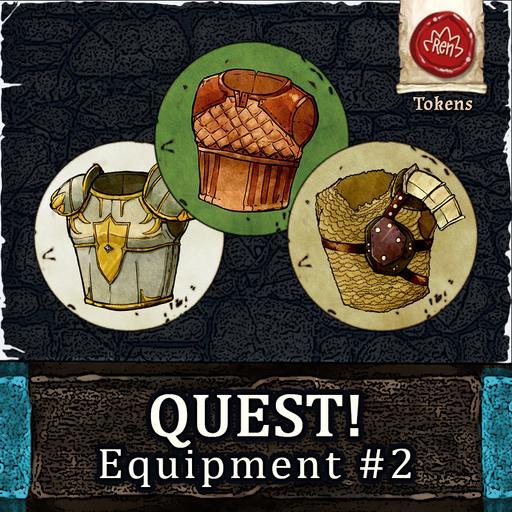 QUEST! Equipment #2 - (Chest) Armors