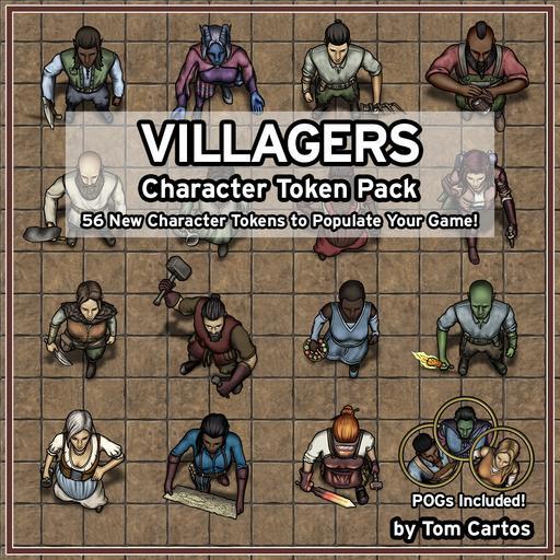 Villagers Character Token Pack