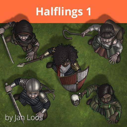 Jans Token Pack 27 - Halflings 1