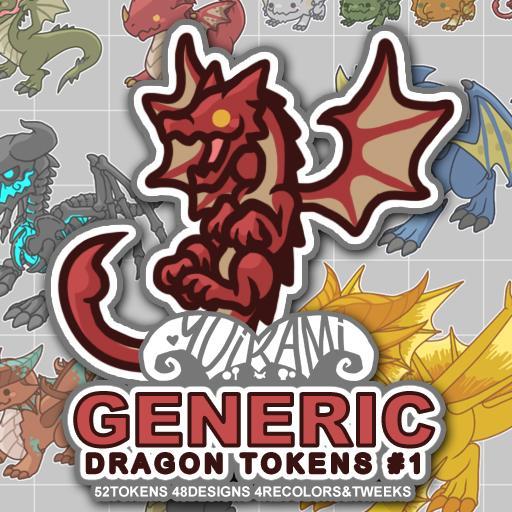 Generic Dragon Tokens 1