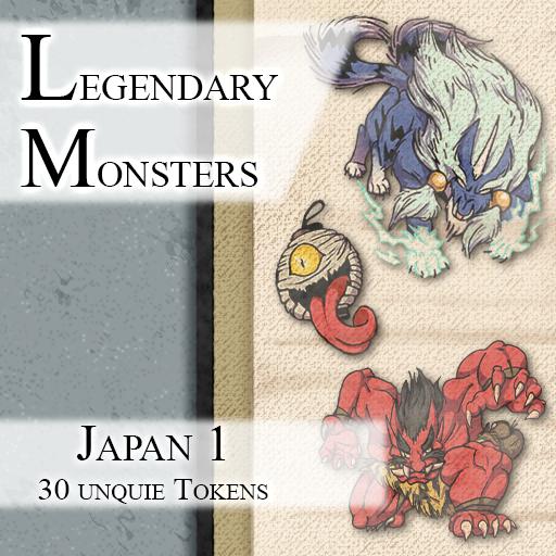 Legendary Monsters: Japan 1