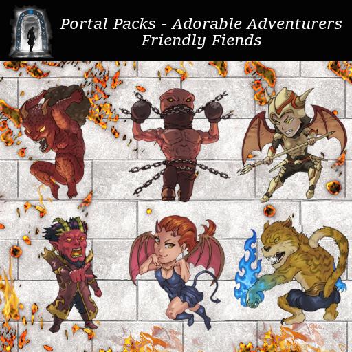 Portal Packs - Adorable Adventurers - Friendly Fiends