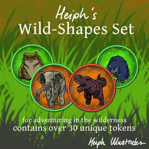 Heiph's Wild-Shapes