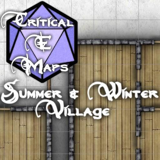 Critical E Maps: Summer & Winter Village