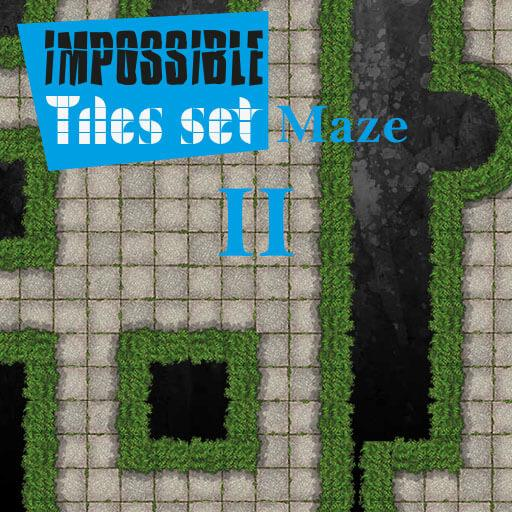 Impossible Tiles Set: Maze 2