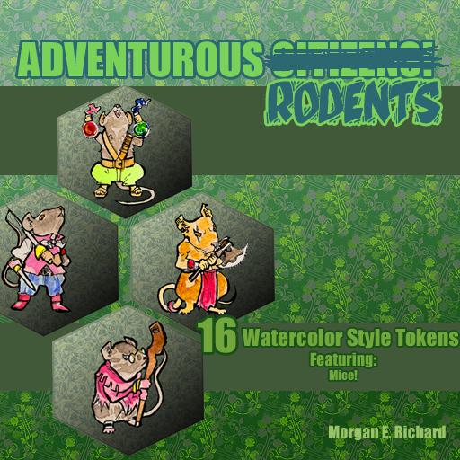 Adventurous Rodents Set 1