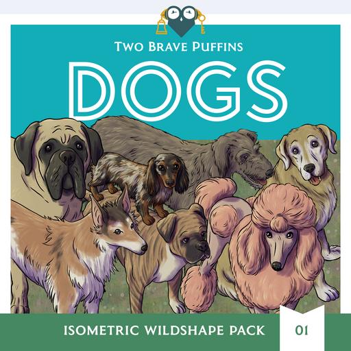 Dogs - Isometric Wildshape Pack 01