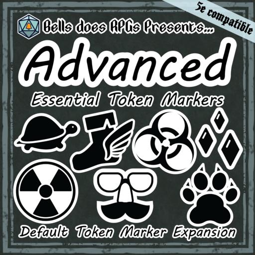 Advanced Essential Token Marker Set