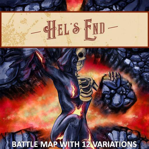 Hel's End Battle Map