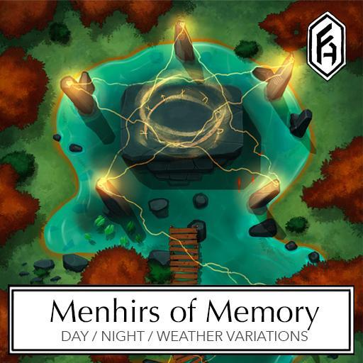 Menhirs of Memory Battlemap