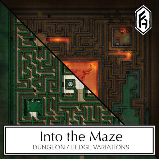 Maze Battlemap