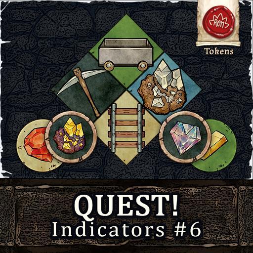 Quest! Indicators #6 Mines!