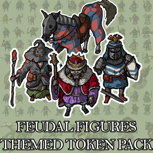Feudal Figures - Themed Token Pack